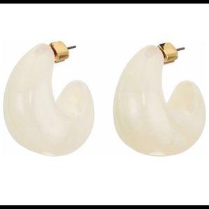 Kate spade huggie hoop earrings